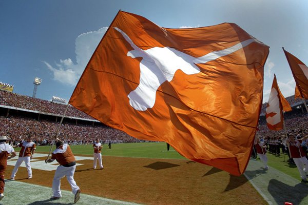 Longhorns Official Orange Logo